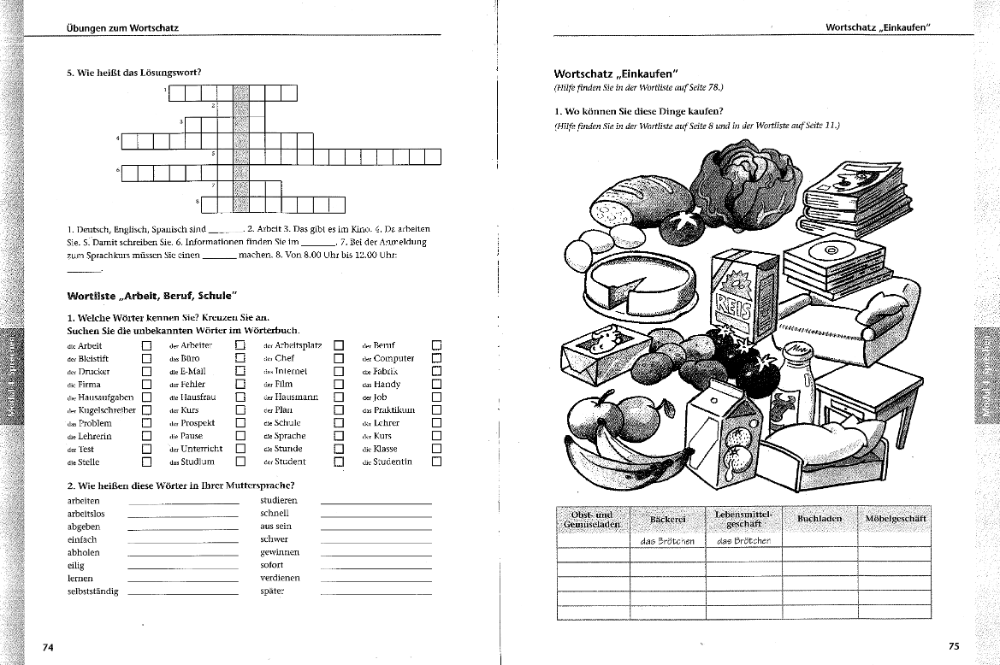 A1 prüfung goethe Practice materials
