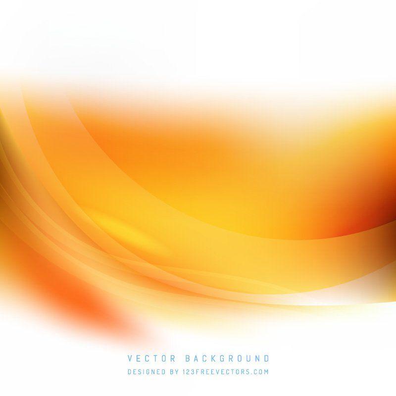 White Orange Wave Background Waves Background Waves