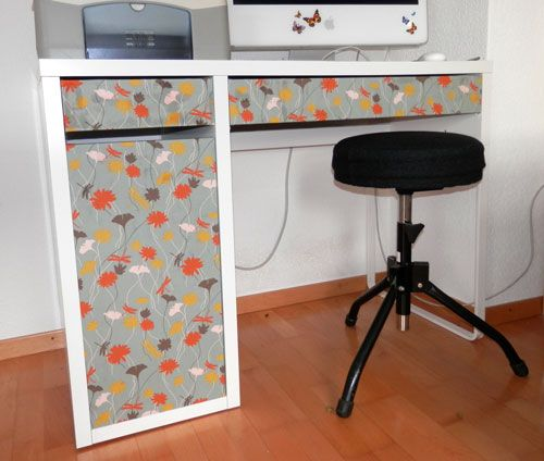 New Look For Micke Ikea Hackers Micke Desk Ikea Ikea Desk