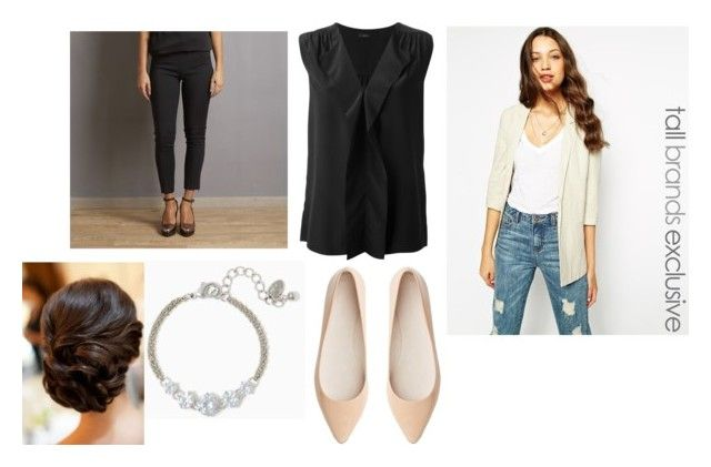 """""""Untitled #4885"""" by dominika-h ❤ liked on Polyvore featuring Vero Moda, Joseph, Space Style Concept and Witchery"""