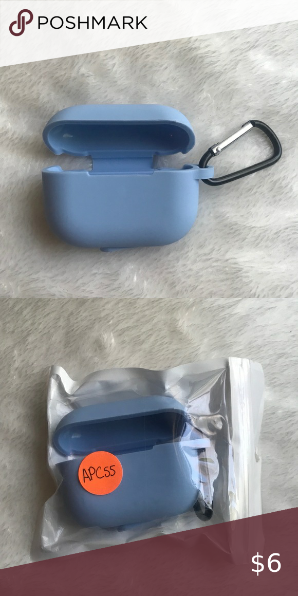 Light blue Airpod pro case