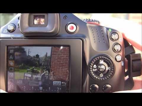 Canon Powershot Sx40 Hs Tutorial Step Twenty One Aeb Auto Exposure Bracketing Camera Tutorial Powershot Tutorial