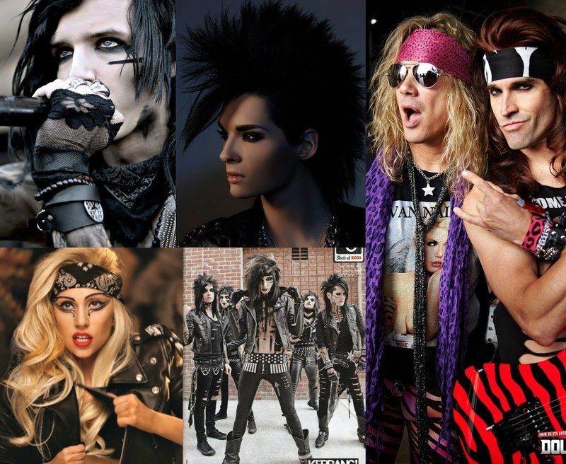 The Evolution Of Glam Rock Fashion Rock Fashion