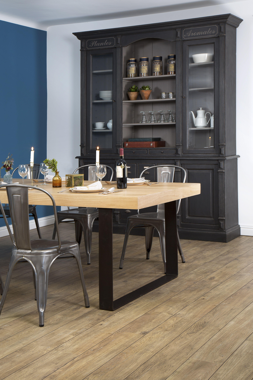 Table Industrielle Realisee Sur Mesure Par Les Meubles De Metiers Www Lesmeublesdemetiers Com Meuble De Metier Mobilier De Salon Grand Meuble