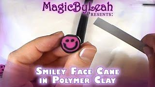 polymer clay canes - YouTube