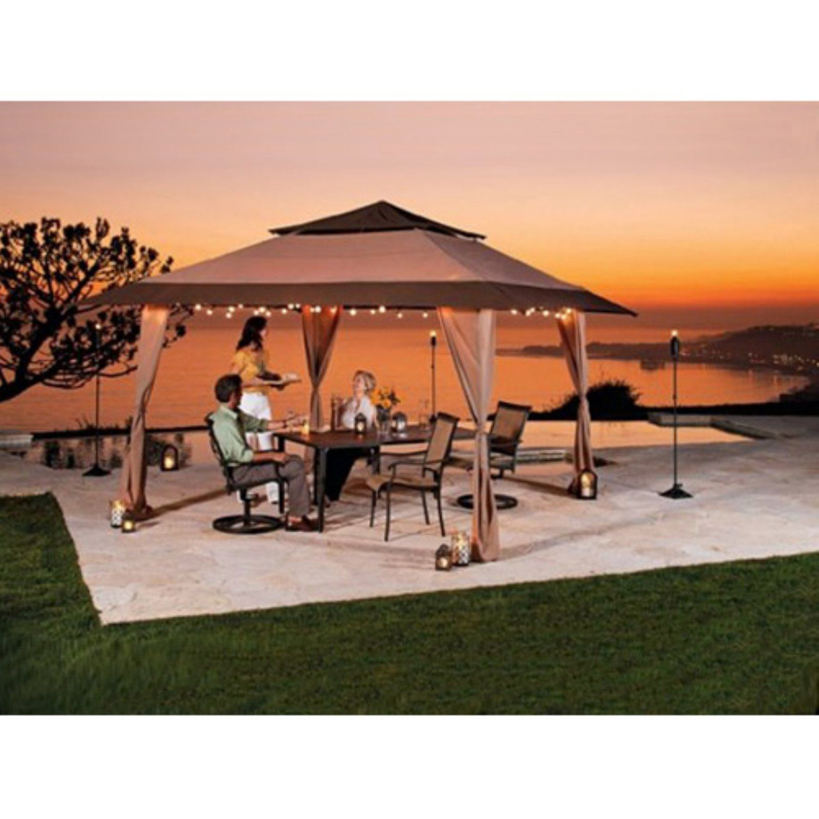 E-Z Up 13 x 13 Pagoda Gazebo Canopy  sc 1 st  Pinterest & E-Z Up 13 x 13 Pagoda Gazebo Canopy | Outdoors | Pinterest ...