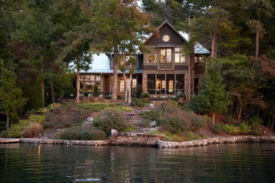 Haus And Home: Lake Burton Home By Pritchett + Dixon
