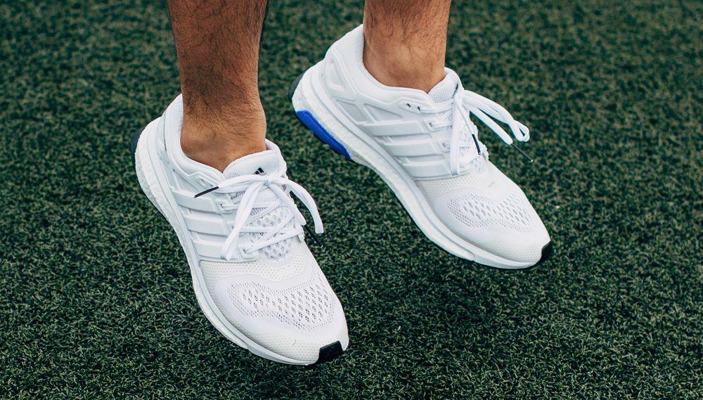 White sneaker, Adidas running, Sneakers