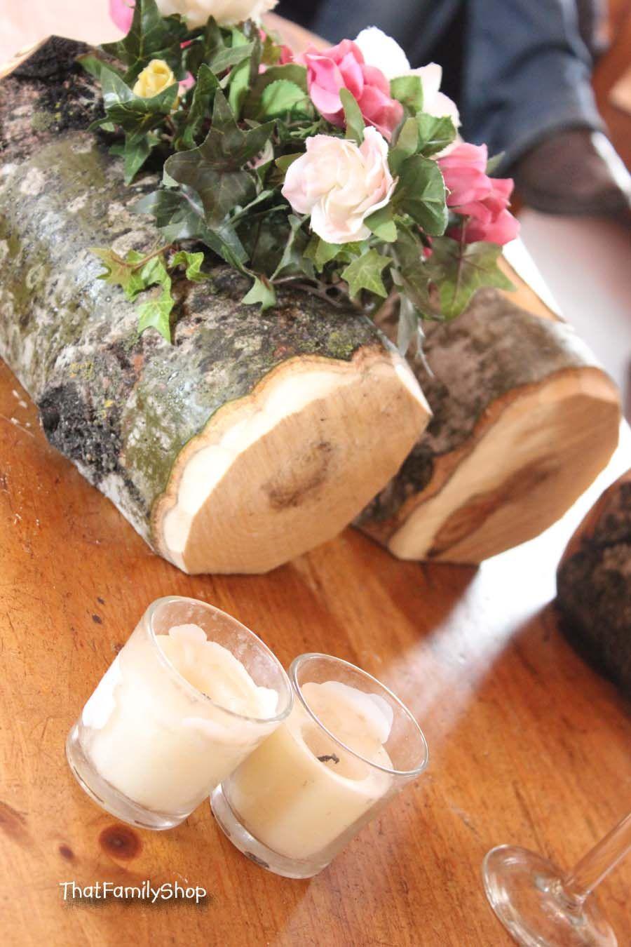 Log flower vase rustic wedding table centerpiece decoration log flower vase rustic wedding table centerpiece decoration reviewsmspy