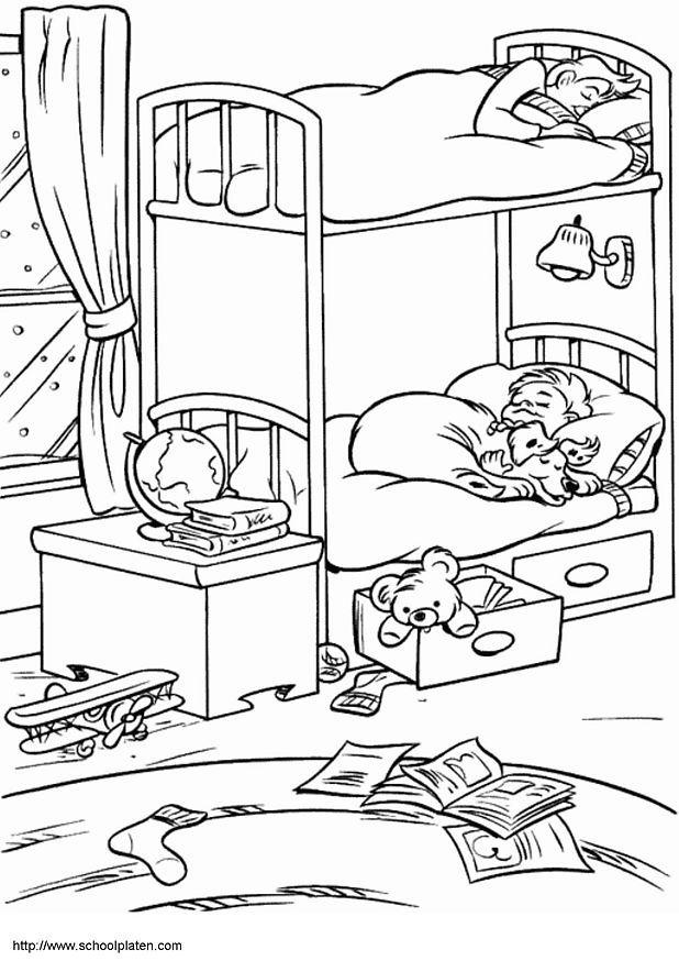 chambre 618 874 printables pinterest colorier page et le site. Black Bedroom Furniture Sets. Home Design Ideas