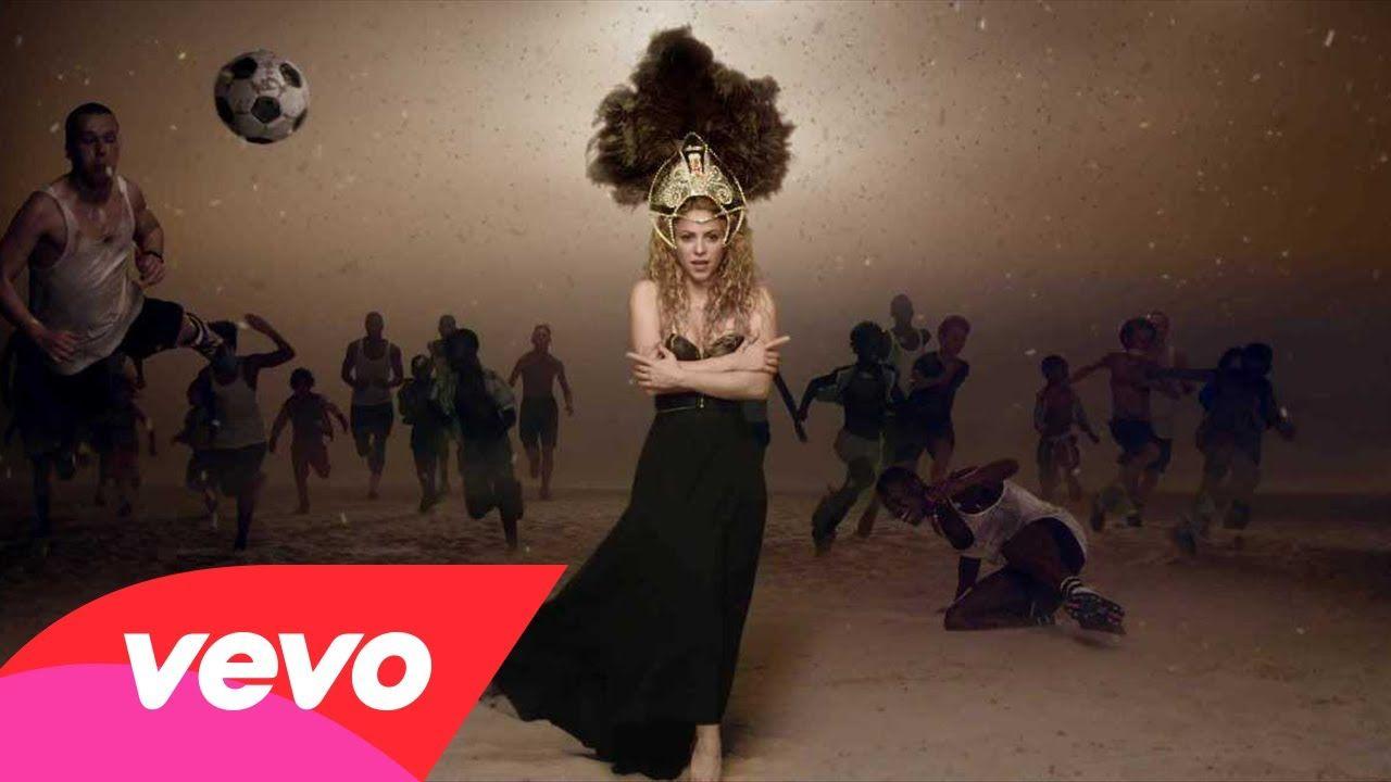 Published On May 22 2014 Shakira La La La Brazil 2014 Ft Carlinhos Brown Music Videos Vevo Shakira Music Videos