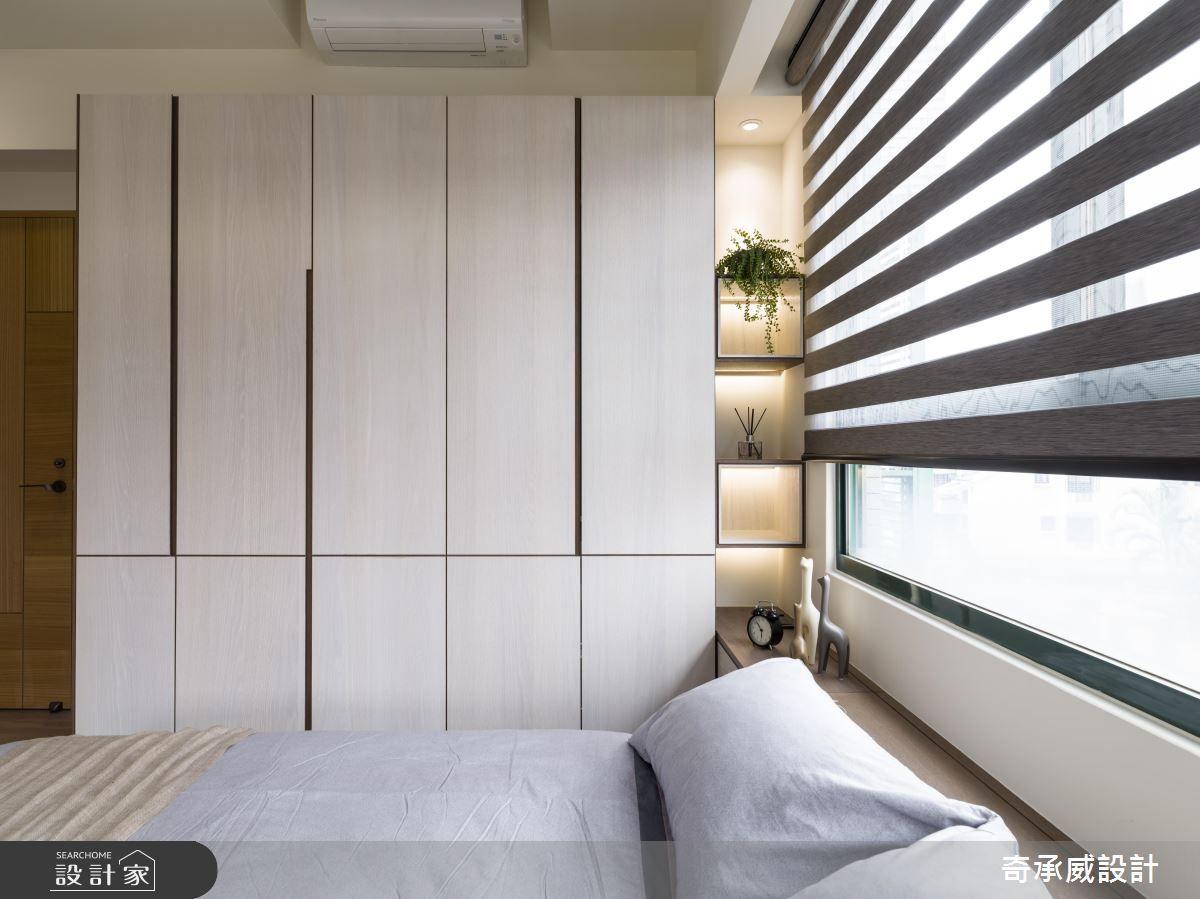 Master bedroom wardrobe designs inside  楊允幀空間設計 混搭風設計圖片楊允幀之設計家 Searchome