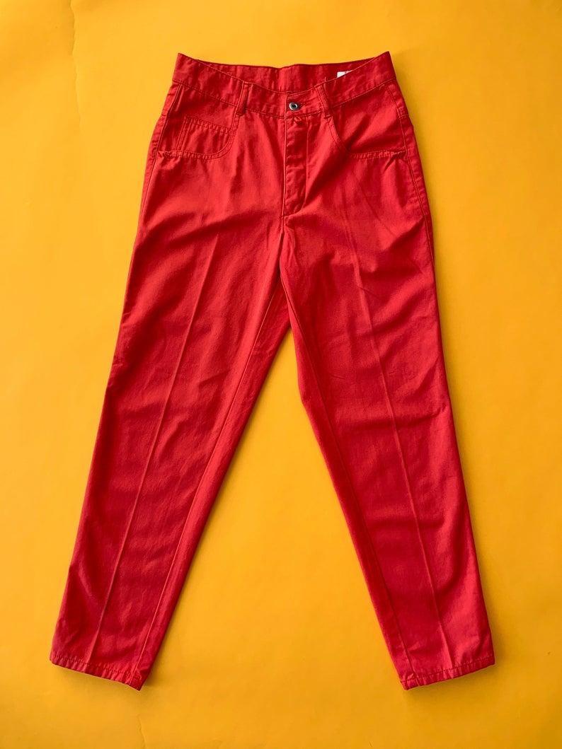 Vintage ESPRIT Burnt Orange High Waisted Pants 26