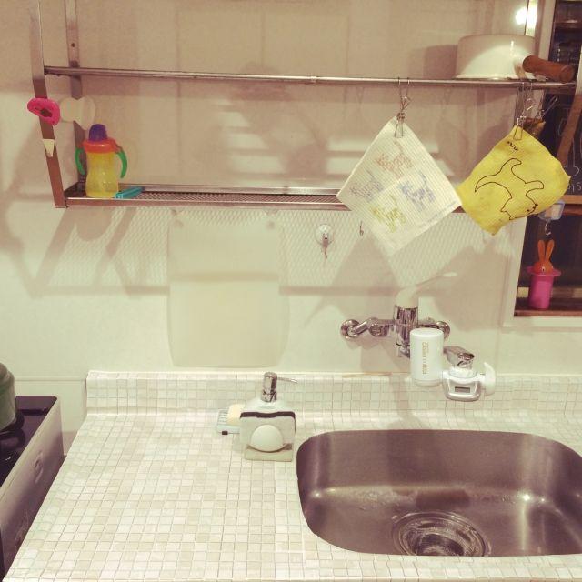 これなら使える タイルシールで賃貸 団地のキッチンを簡単diy特集