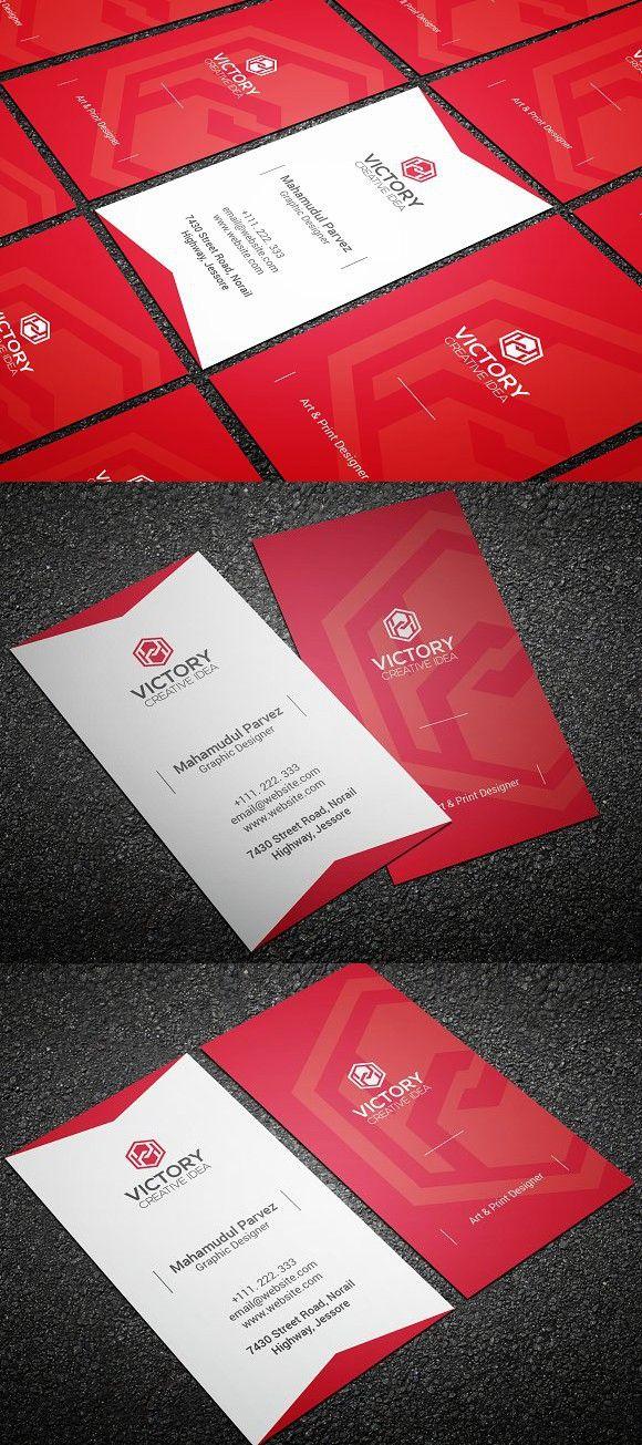 Avrow Corporate Business Card Creative Business Card Templates