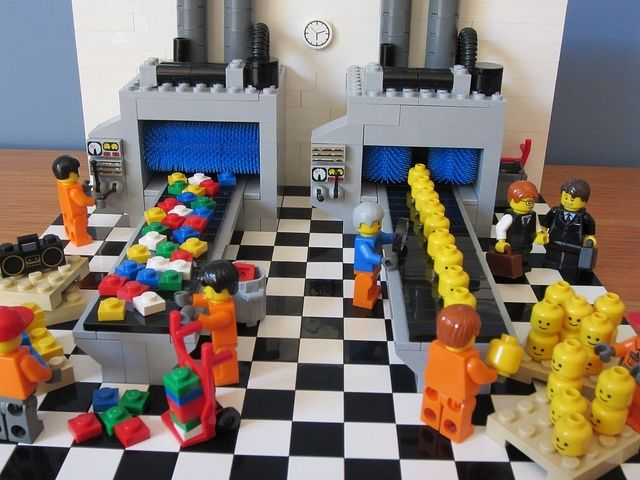 Production is up!   Lego factory, Science cells and Life science
