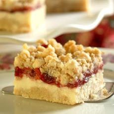 Premier Cheesecake Cranberry Bars Recipe