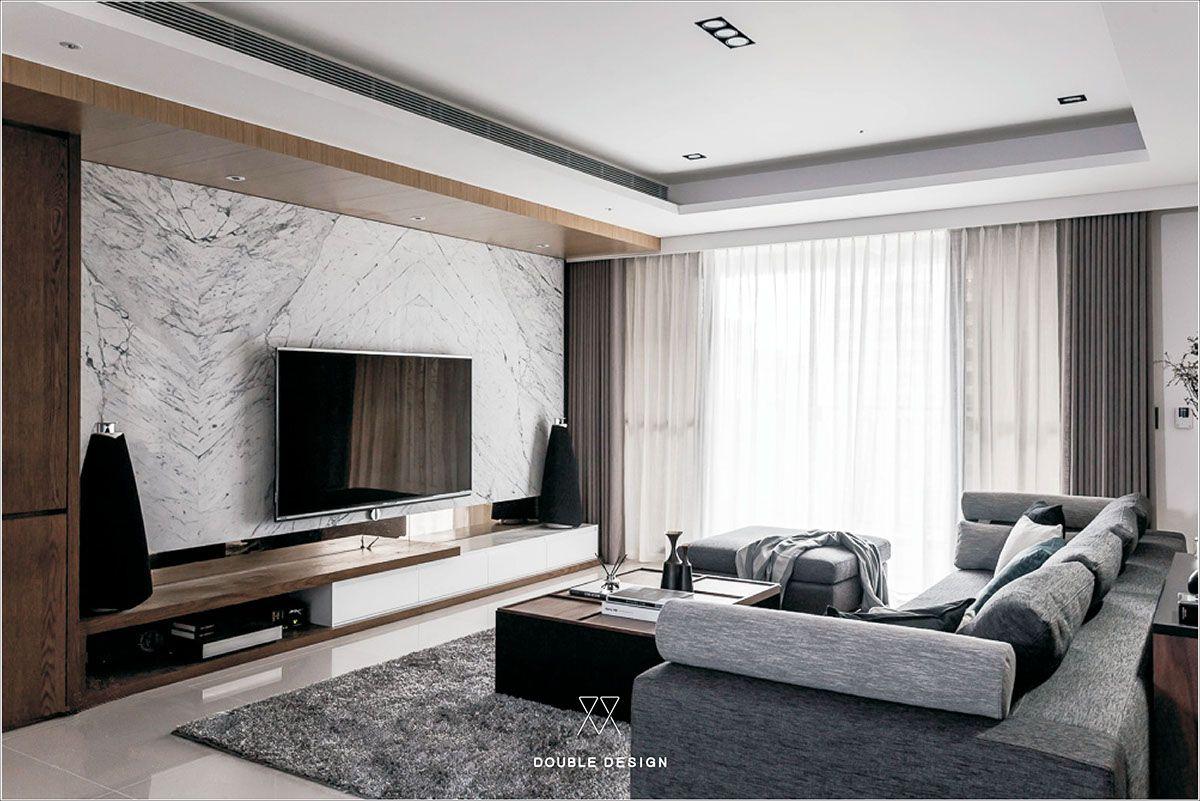 Lin residence on Behance   livingroom   Pinterest   Behance, Tv ...