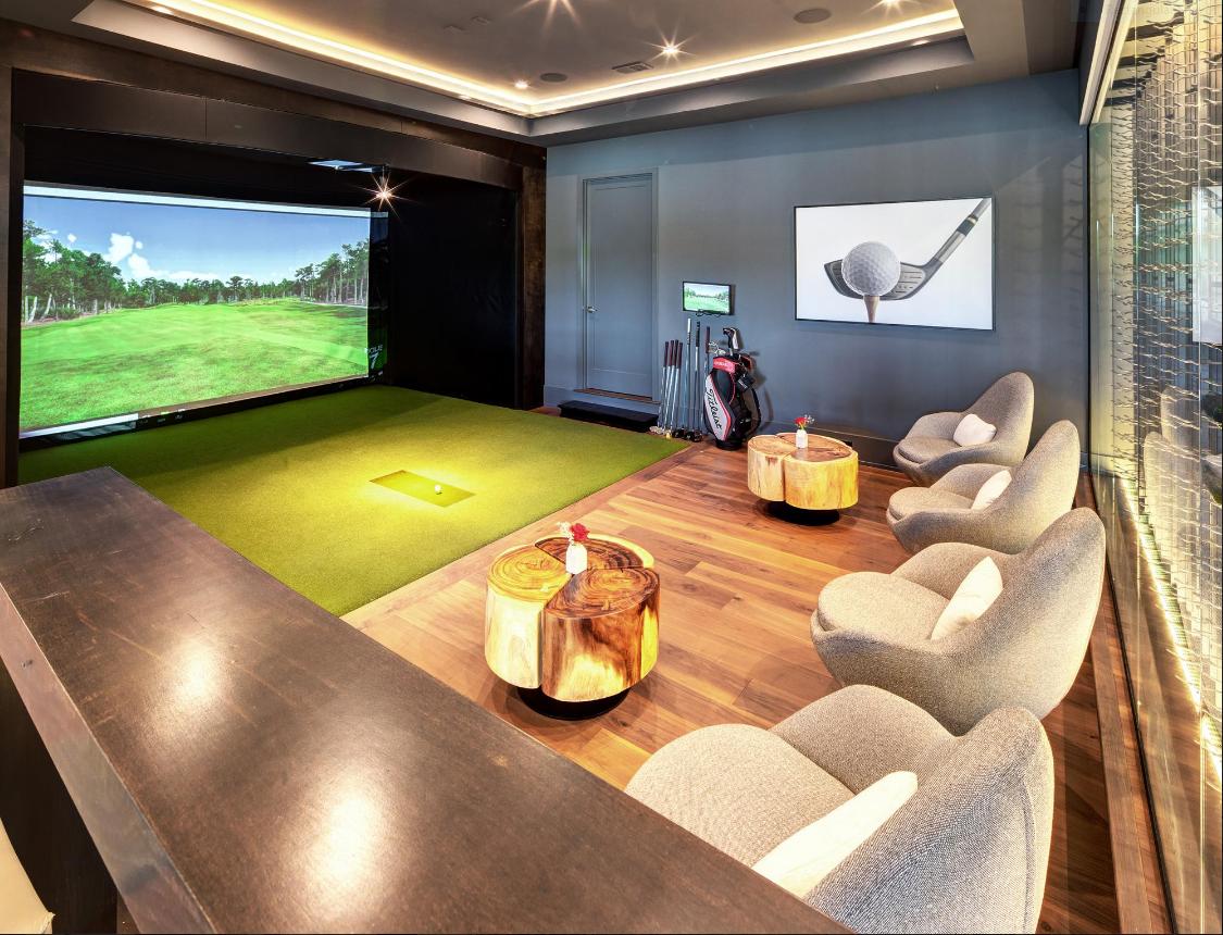 Awesome Home Golf Simulator Golf Simulator Room Home Golf Simulator Golf Room