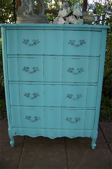 Vintage Furniture Sales And Rentals   French Chic 4 Drawer Chest   Southport,  NC