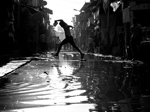 Free images people men jump streets black and white