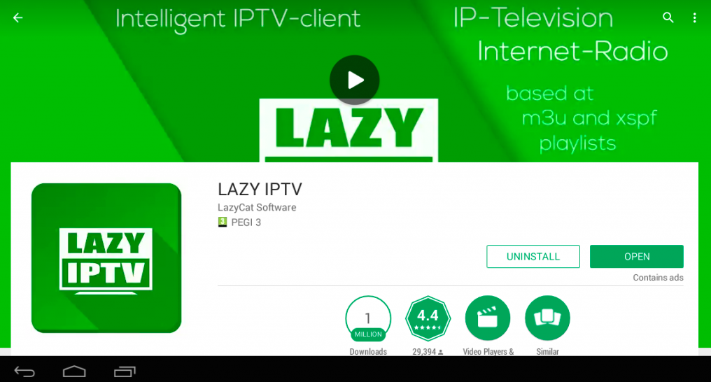 Lazy Iptv For Iphone