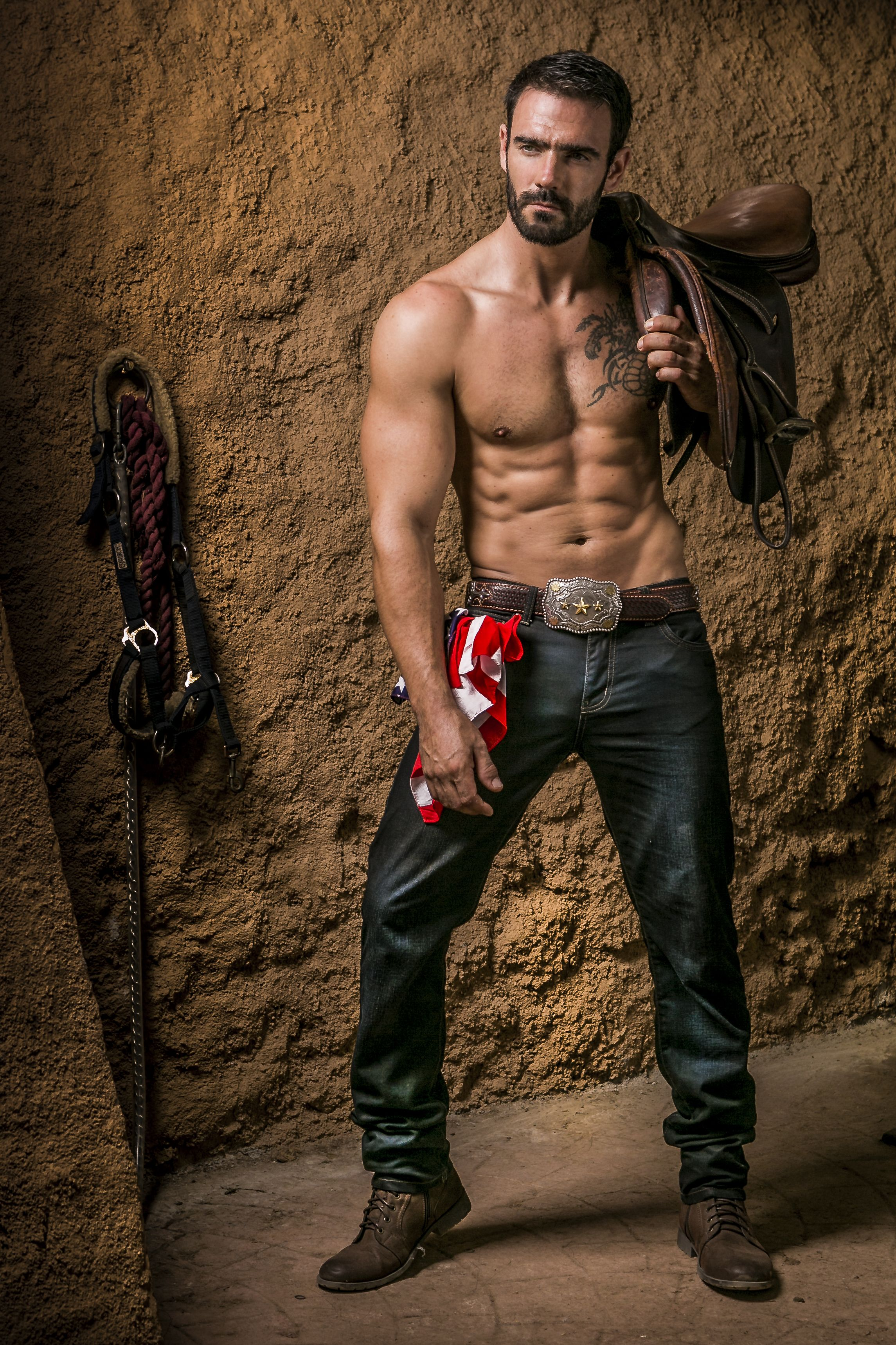 hot male naked cowboys