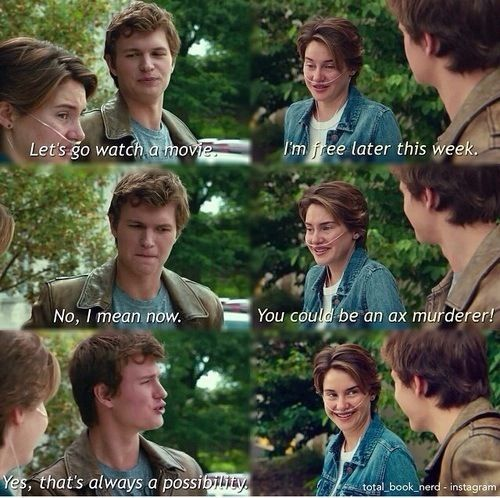 Pin By Sophia Mackel On The Fault In Our Stars The Fault In Our