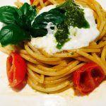 » Spaghetti alici capperi e burrata