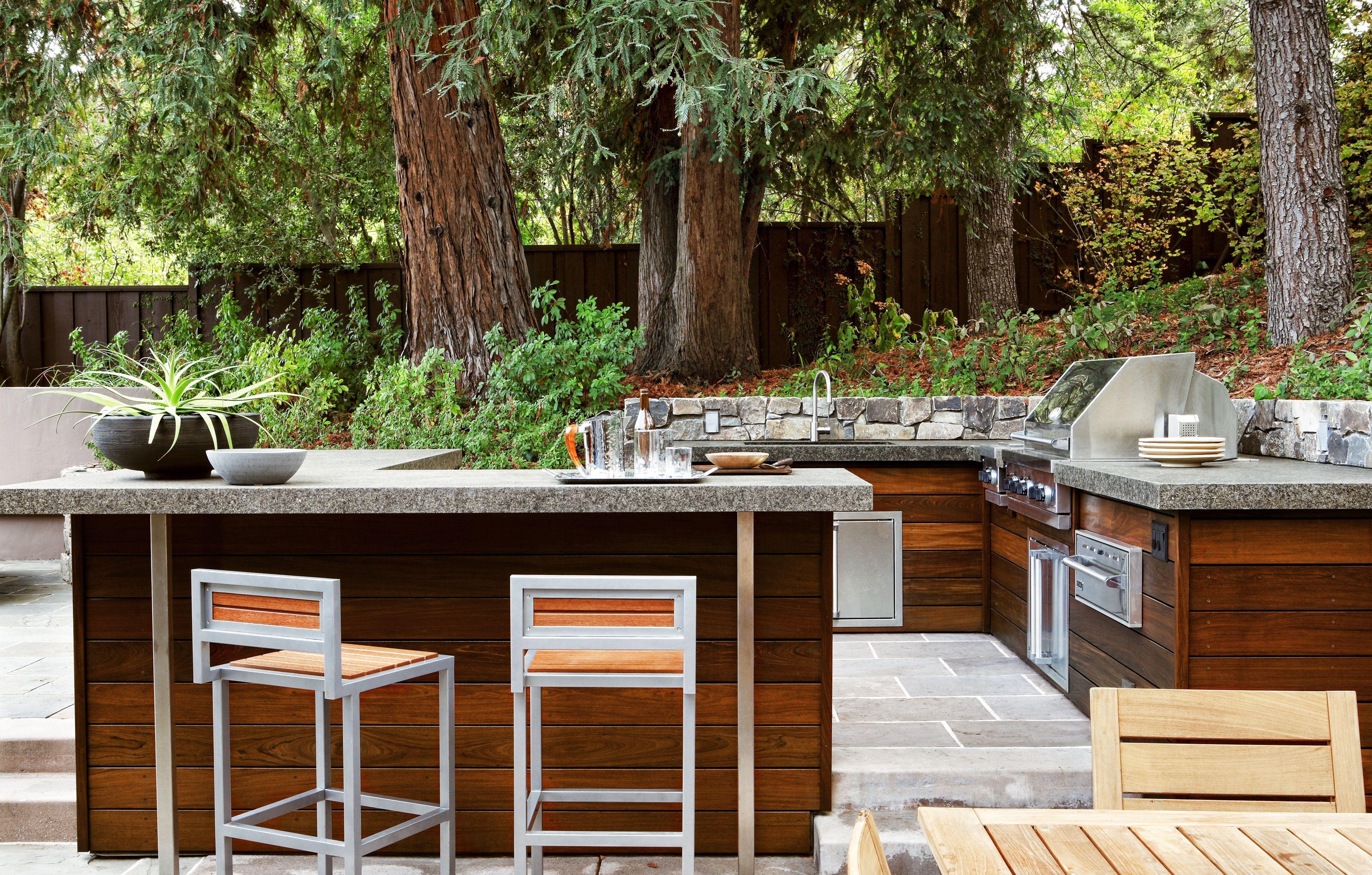 30 incredible modern outdoor kitchen design ideas for enjoy your party outdoor kitchen design on outdoor kitchen on wheels id=75656