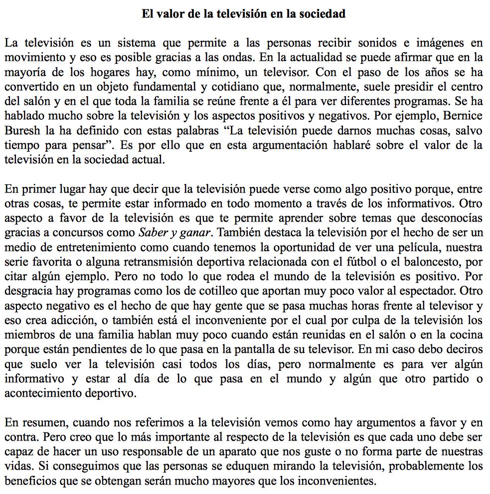 Texto Argumentativo Plantilla Y Ejemplo Texto Argumentativo Comentario De Texto Lectura De Comprensión