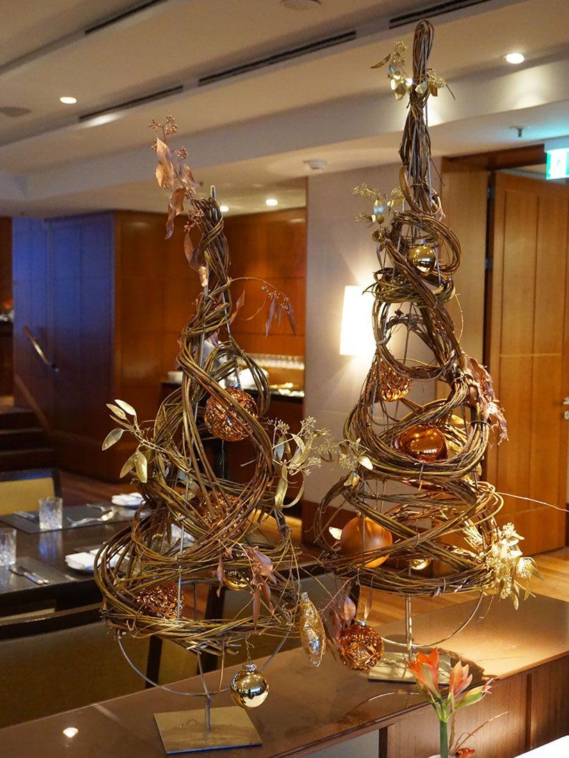 Hamburg Tannenbaum.Abstrakter Tannenbaum Im Hotel Park Hyatt In Hamburg Weihnachtsd