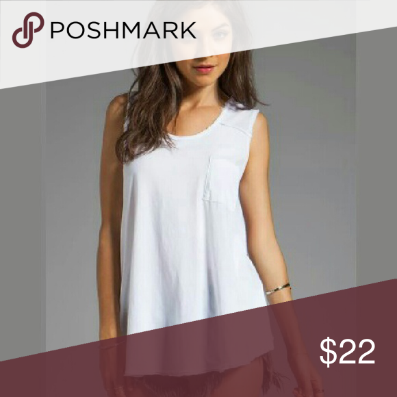 White Tank New with tags and available in sizes xs-l Free People Tops Tank Tops