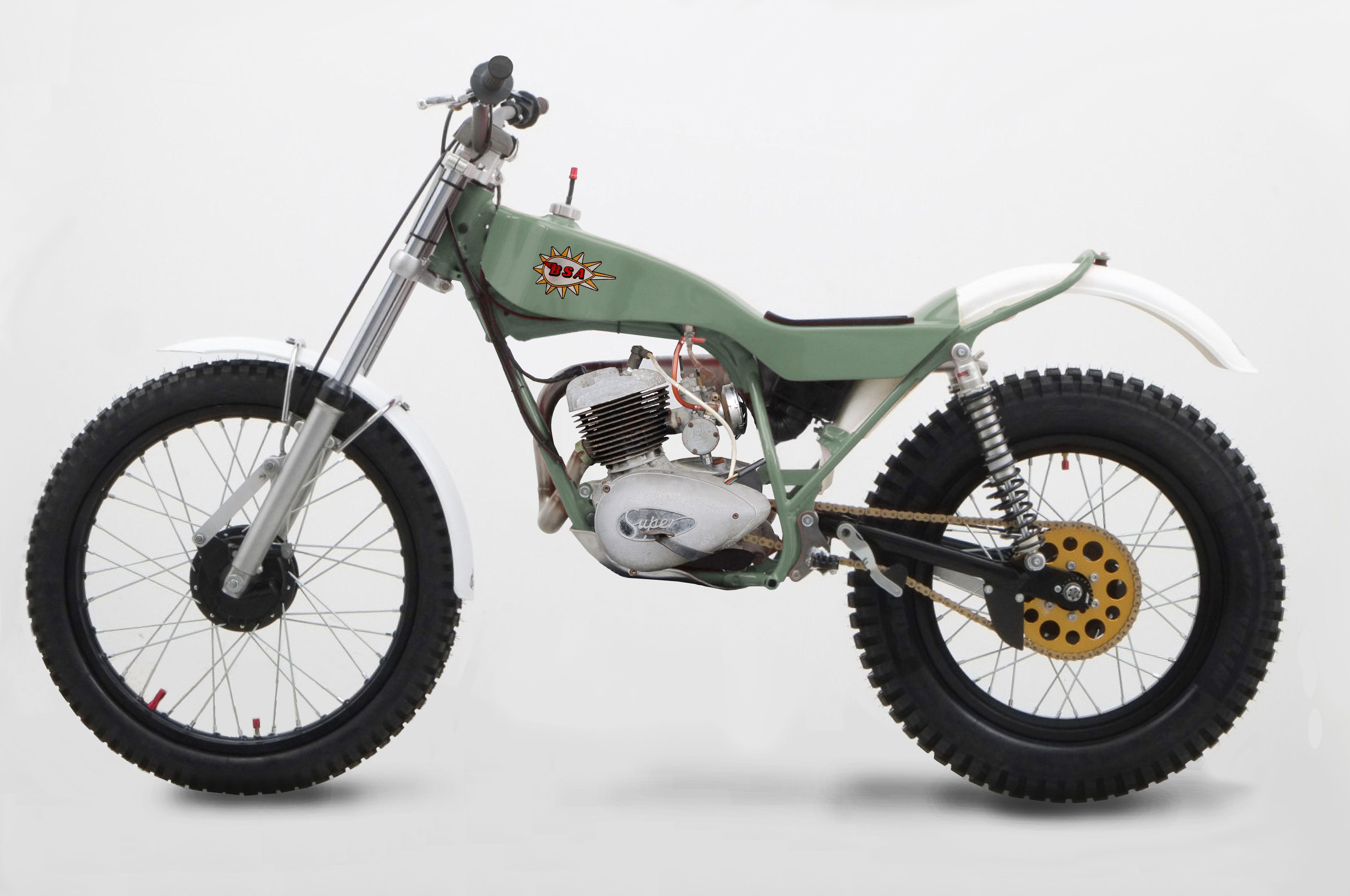 Bsa bantam 175 x yamaha ty bike pinterest trials for Yamaha trials bike