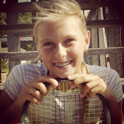 Maria Sharapova Kid