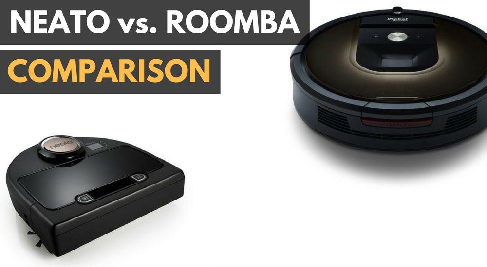 Neato vs roomba roomba neato robot vacuum cleaner