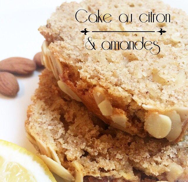 cake citron amandes vivrehealthy