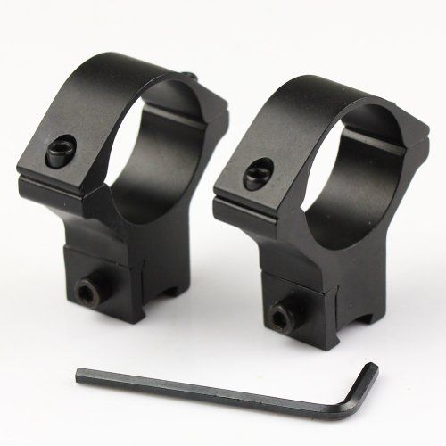 Very100 2pcs Hgih Profile Scope Rings 30mm Dovetail 11mm Mount Rail For Laser Flashlight Click Image To Review More Details Hunting Rifles Flashlight Scope