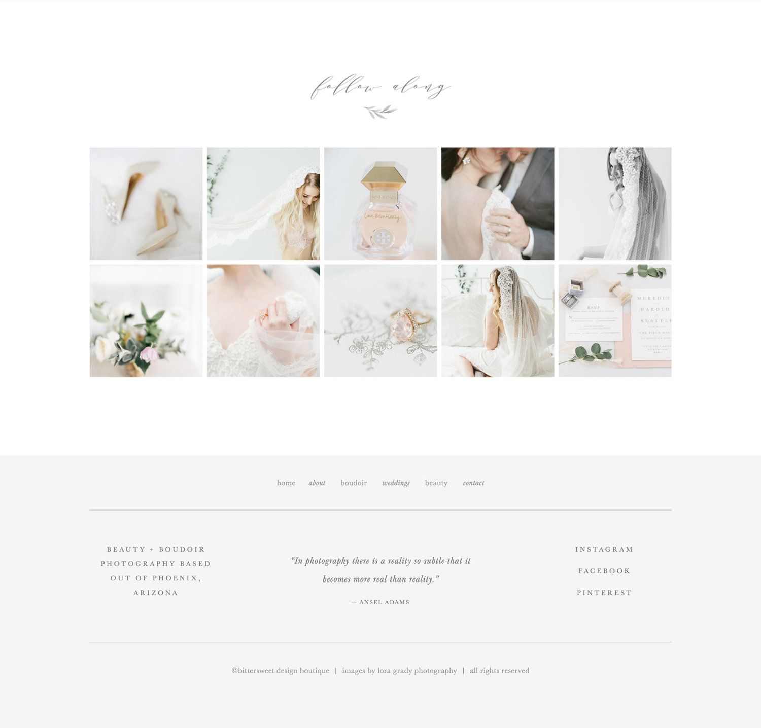 Custom Squarespace Templates | Squarespace Website Template For Photographers Creatives Aspen
