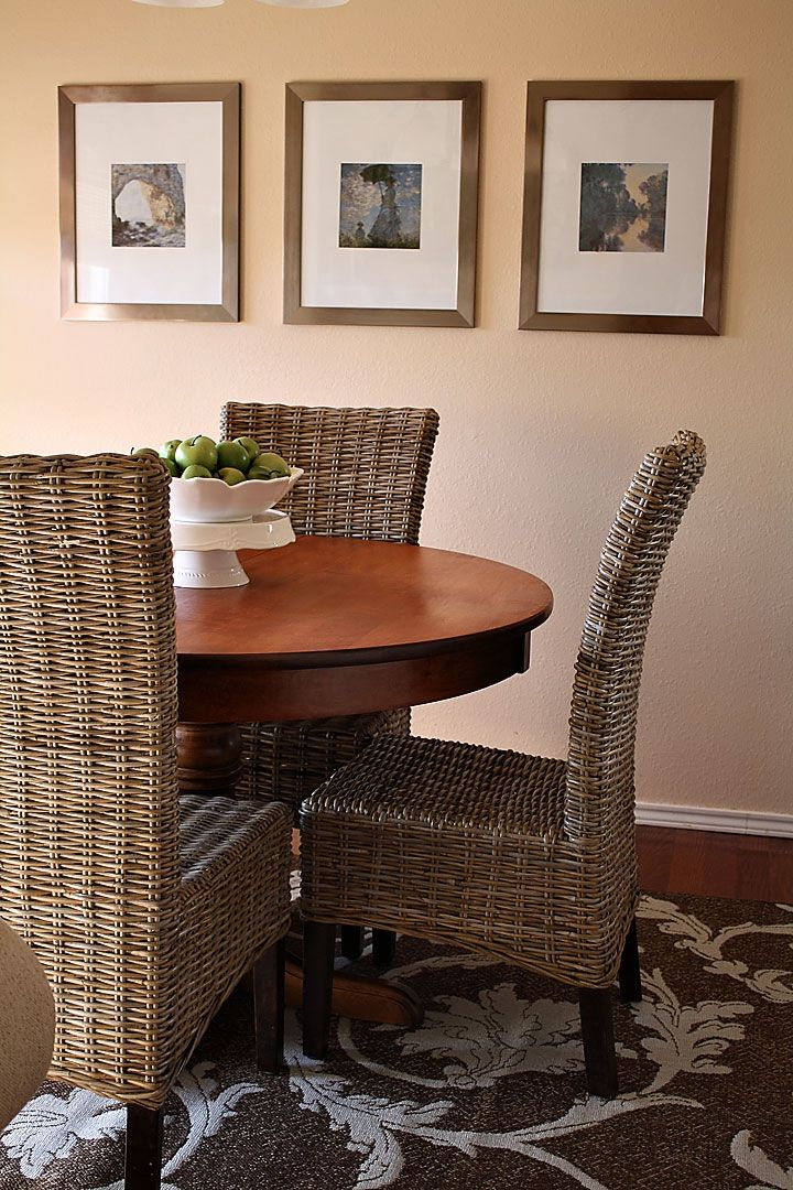 Kubu Woven Dining Chairs From Pier 1 Twenty Three Oh One Inspiration Pier One Dining Room Furniture Design Inspiration