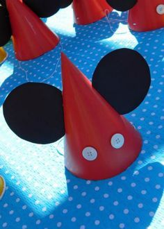 The 11 Best Mickey Mouse Birthday Party Ideas #mickeymousebirthdaypartyideas1st