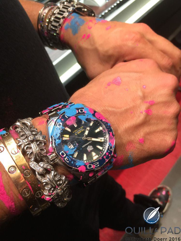 Alec Monopoly Joins The Tag Heuer Universe A Street Artist In