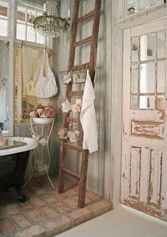 Il bagno in stile Shabby Chic, provenzale o country è ...