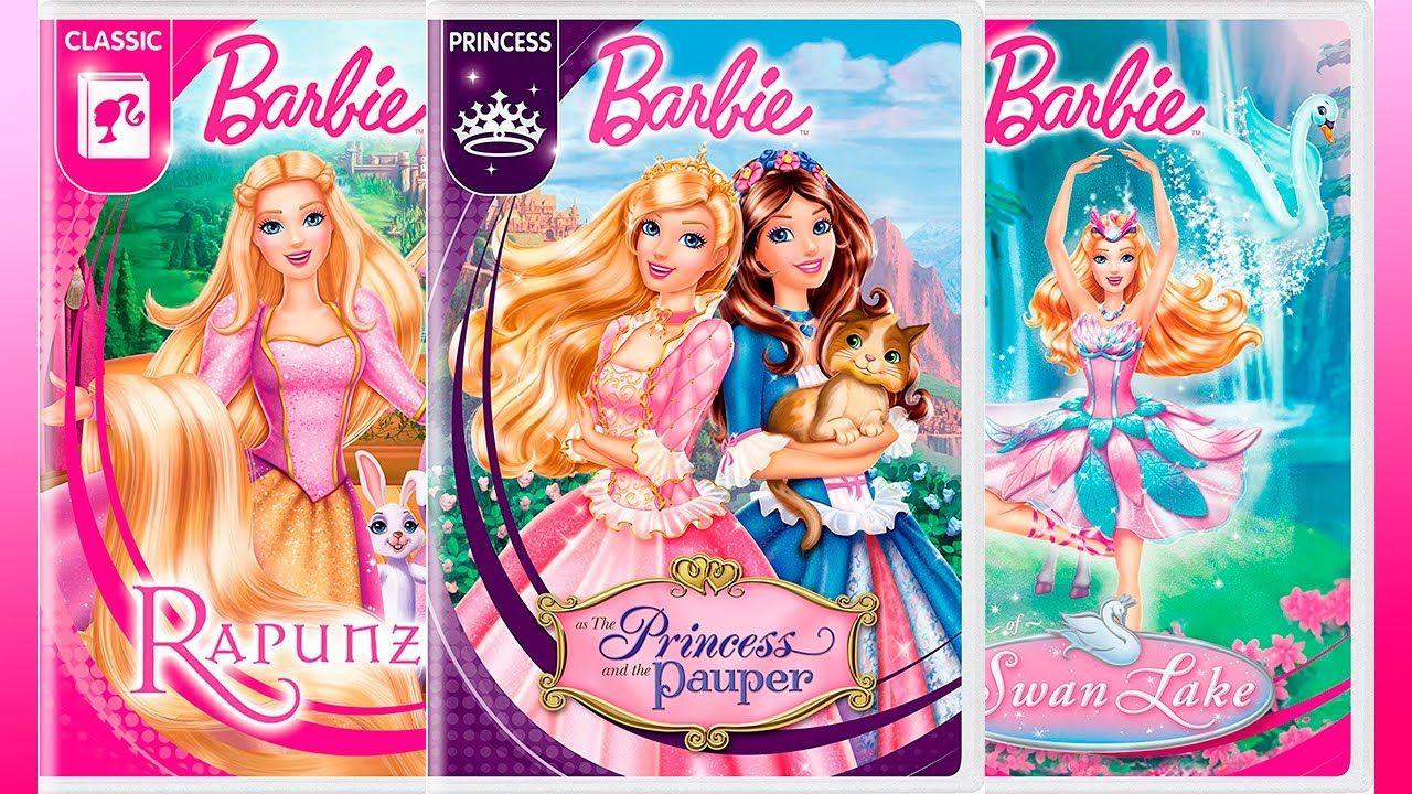 Barbie New Artwork Of Movies 2017 Portadas De Peliculas Barbie Princesa Barbie