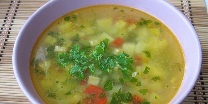 Рецепт: Салат ассорти из морепродуктов на