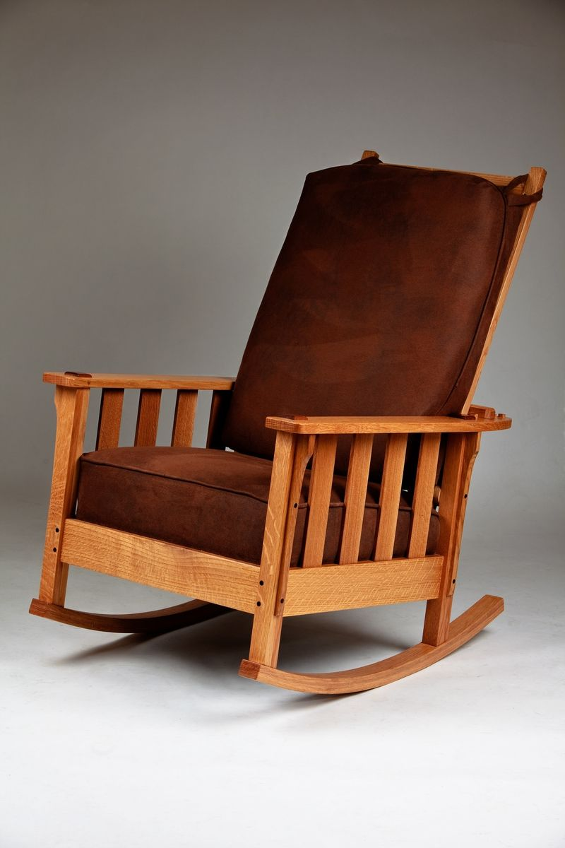 Quarter Sawn White Oak Rocker Quarter Sawn White Oak Rocking Chair White Oak