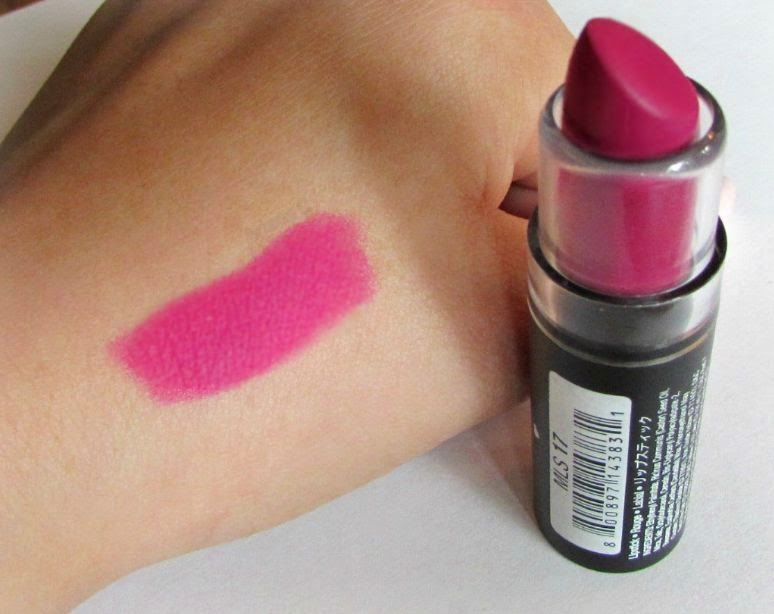 NYX matte lipstick in Sweet Pink. Gorgeous fuchsia with ...