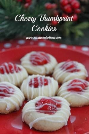 Tenacity Solution Cherry Thumbprint Cookie Recipe Christmas