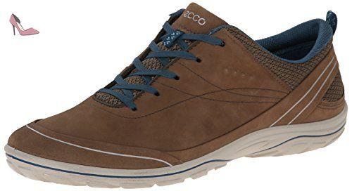 Ecco Arizona, Chaussures de Fitness Outdoor Femmes - Marron - Braun (Birch/Sea Port), 36 EU