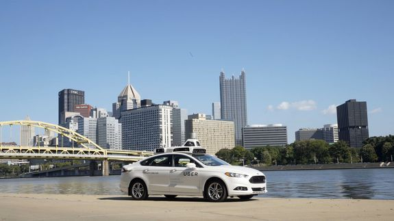 Where you can hail self-driving Uber cars